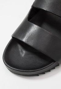 Grenson - CHADWICK - Mules - black - 5