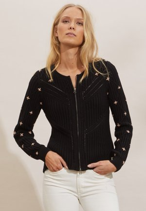 COURTNEY - Cardigan - black