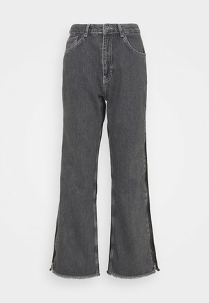 GEMINI - Straight leg jeans - grey