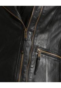 JCC - Leather jacket - black - 5