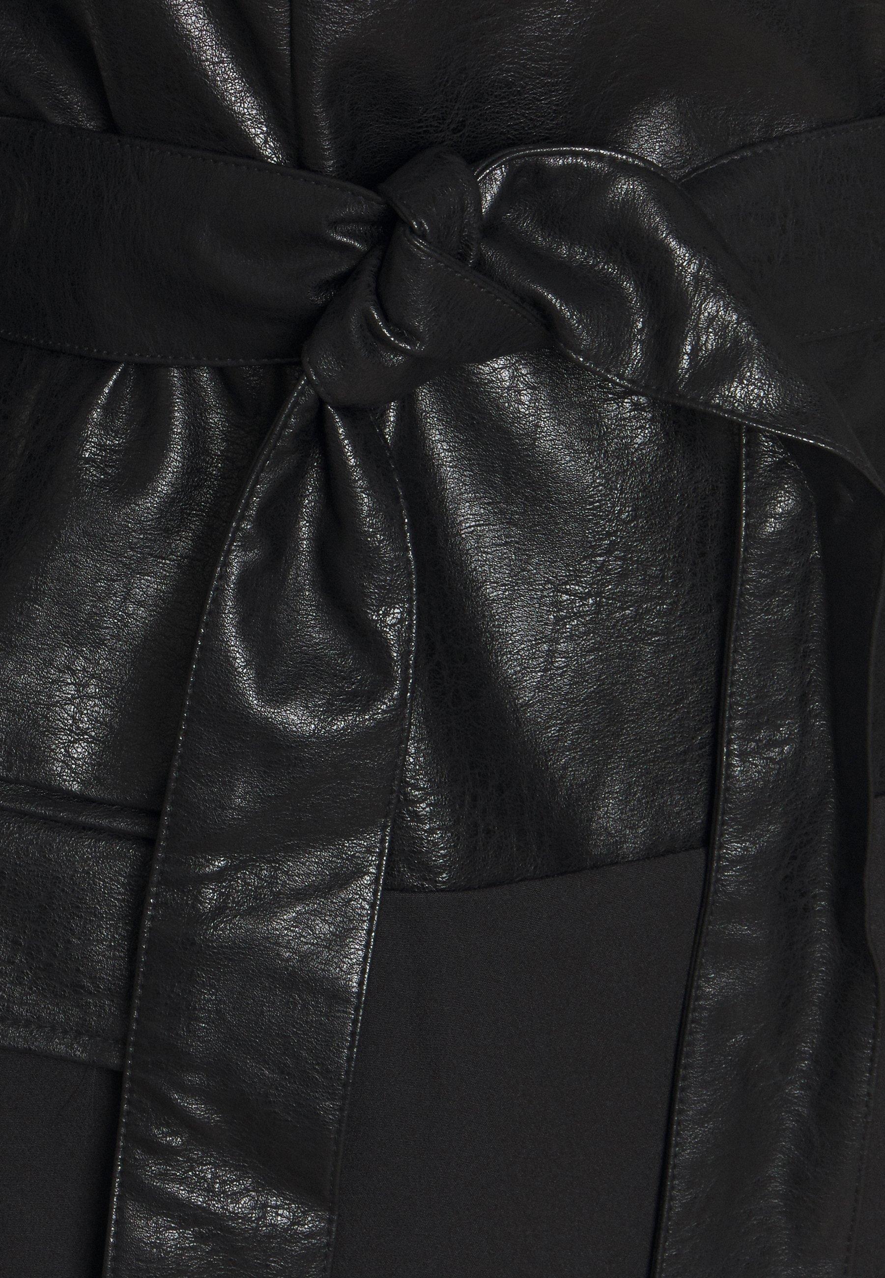 Missguided BELTED BLAZER DRESS Freizeitkleid black/schwarz