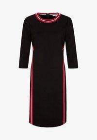 comma casual identity - MIT STREIFEN - Day dress - black - 4