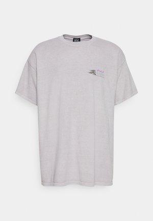 HIGHEST HEIGHTS TEE UNISEX - Print T-shirt - stone