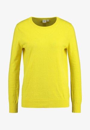 CREW - Jumper - bold yellow