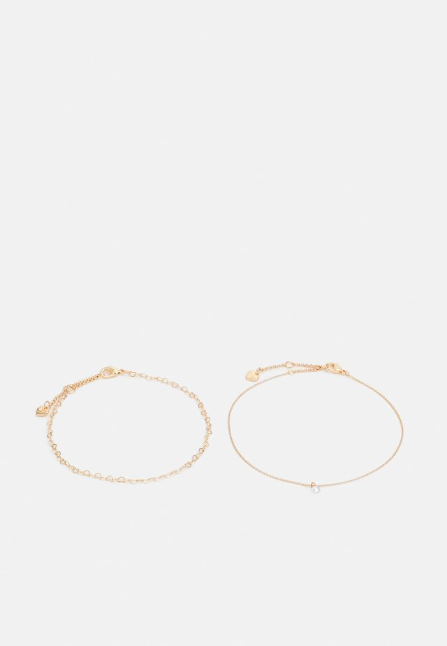 MAXILLARIA 2 PACK - Bracelet - clear on gold-coloured