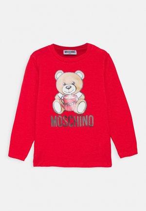 UNISEX - Pitkähihainen paita - poppy red