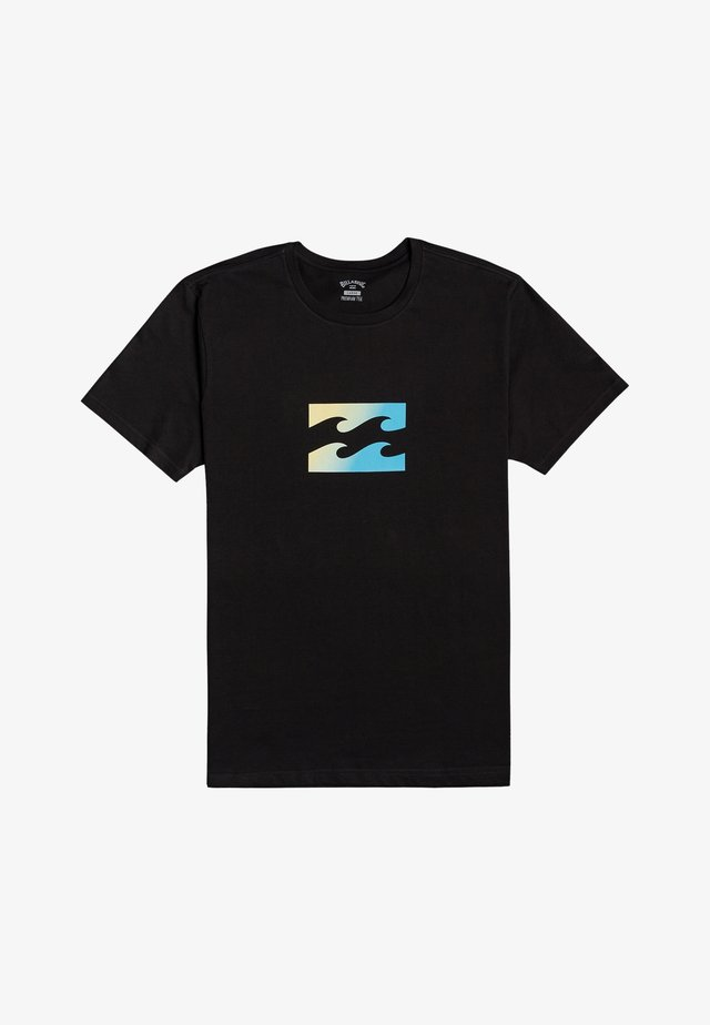 TEAM WAVE  - T-shirts print - black