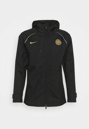 INTER MAILAND - Club wear - black/truly gold