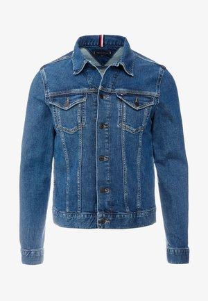 TRUCKER - Denim jacket - blue denim