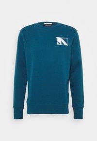 CLUB NOMADE - Sweatshirts - petrol blue