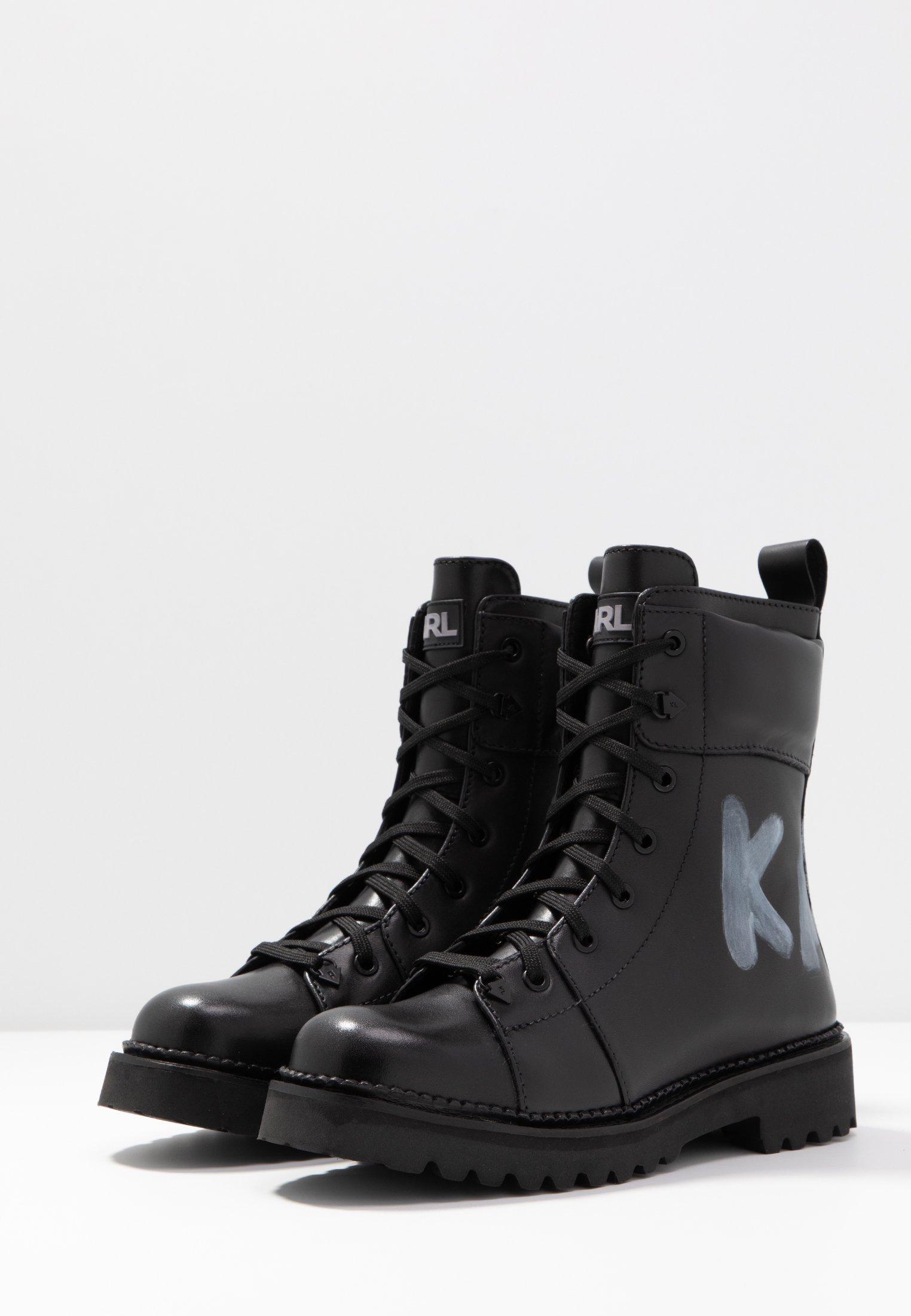 KADET HI LACE BOOT Veterboots black