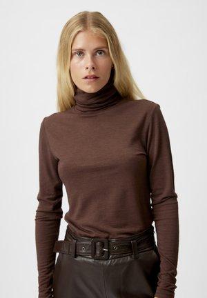 SIVIDAGZ  - Long sleeved top - brunette