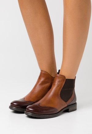 RONJA ECO - Classic ankle boots - mid brown/cognac