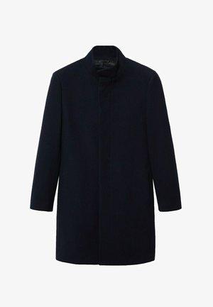 Klasický kabát - dunkles marineblau