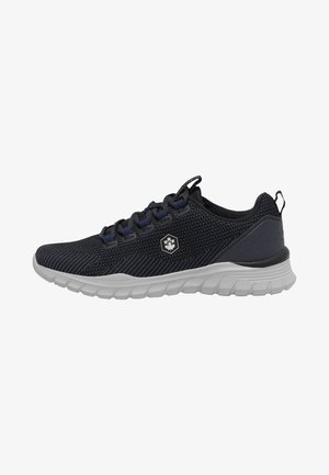 Casual lace-ups - navy blue