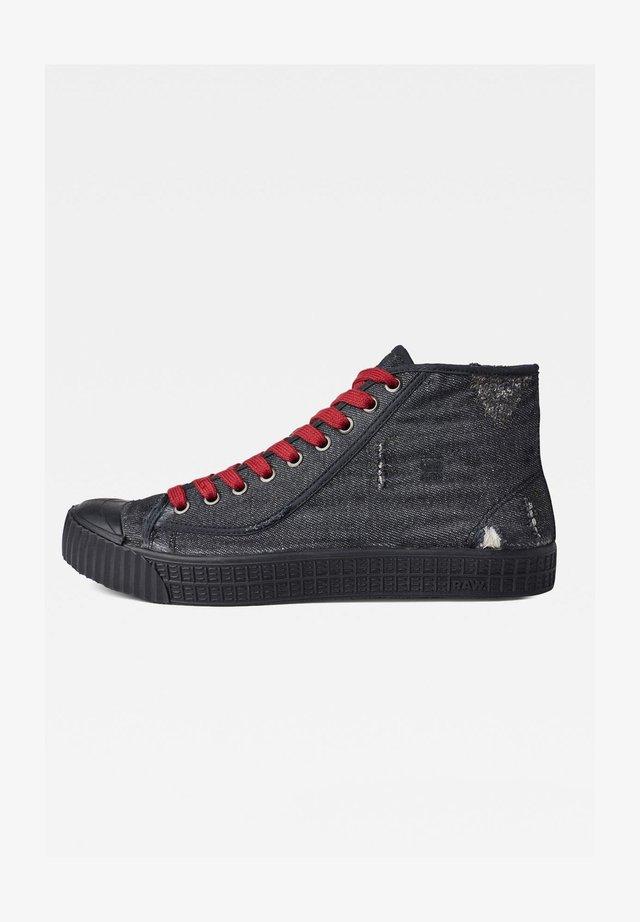 ROVULC 50 YEARS DENIM MID - Sneakers alte - black