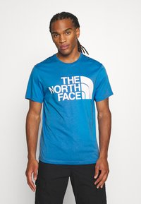 The North Face - STANDARD TEE - Print T-shirt - clear lake blue - 0