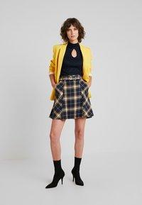 edc by Esprit - SOFT - A-line skirt - navy - 1