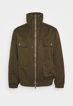UTILITY JACKET - Summer jacket - olive