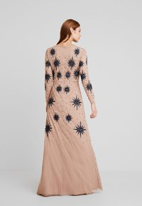 Maya Deluxe - STAR EMBELLISHED WRAP DRESS - Occasion wear - blush/navy - 3