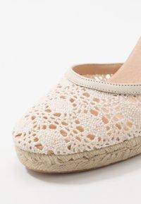 San Marina - LAJANA - High heeled sandals - crème - 2