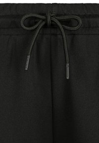 Urban Classics - DAMEN LADIES SIDE TAPED TRACK PANTS - Tracksuit bottoms - black - 4
