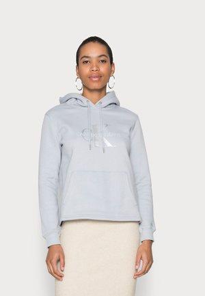 GLOSSY MONOGRAM HOODIE - Sweatshirt - marble grey
