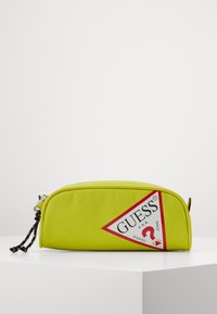 Guess - UNISEX SMALL POUCH - Pencil case - shiny light green - 0