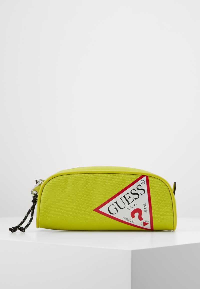 Guess - UNISEX SMALL POUCH - Pencil case - shiny light green