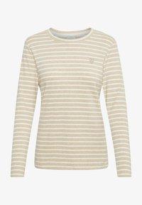 Kaffe - LIDDY - Camiseta de manga larga - brown, evergreen - 3