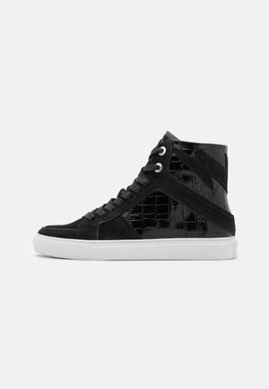 High-top trainers - noir