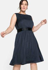 Sheego - Cocktail dress / Party dress - nachtblau - 0