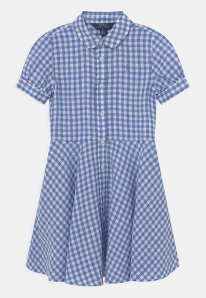 Shirt dress - blue/white