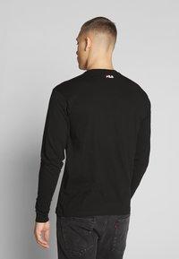Fila - PURE - Langærmede T-shirts - black - 2