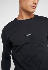 Les Deux - LENS - Long sleeved top - black/white - 3