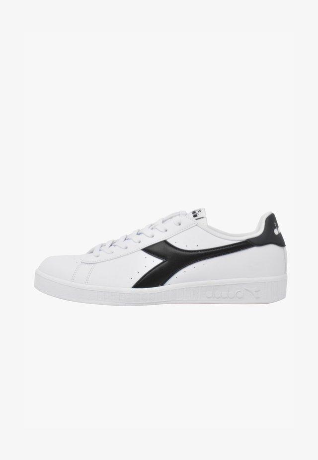 GAME - Sneakers basse - white-ebony-black