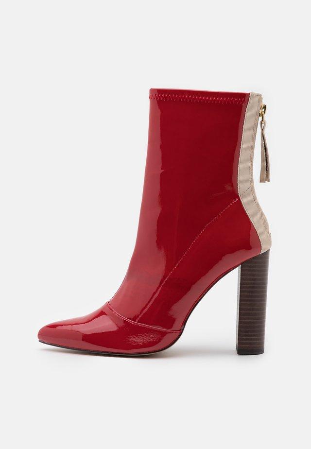 Botines - red