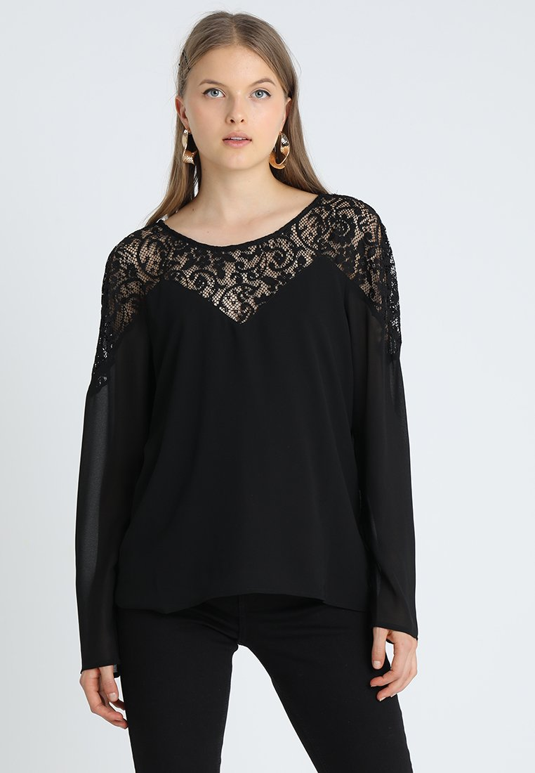 Vila VIBEKIDA  - Blouse - black - Dameskleding Origineel