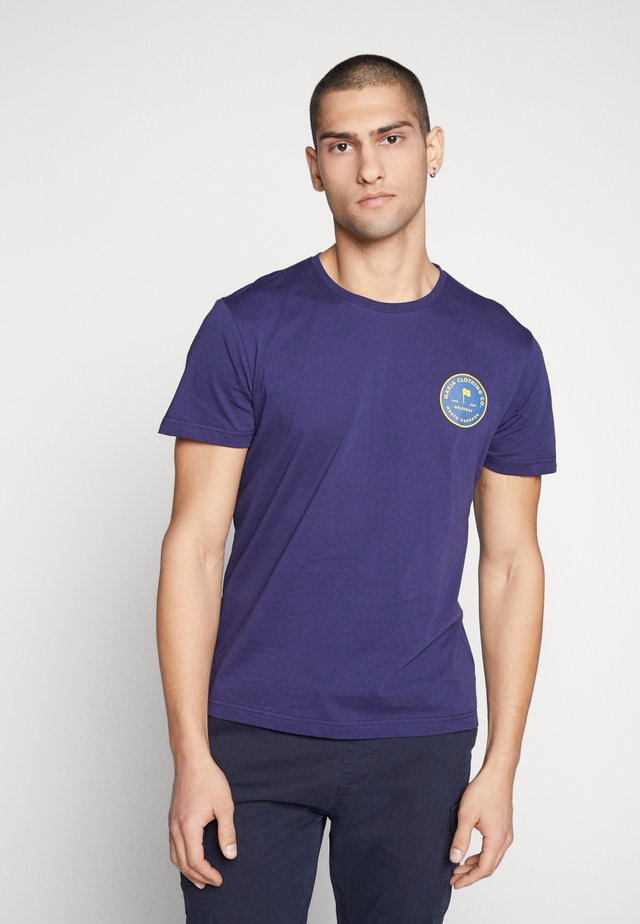 PURSUIT - T-shirt imprimé - dark blue