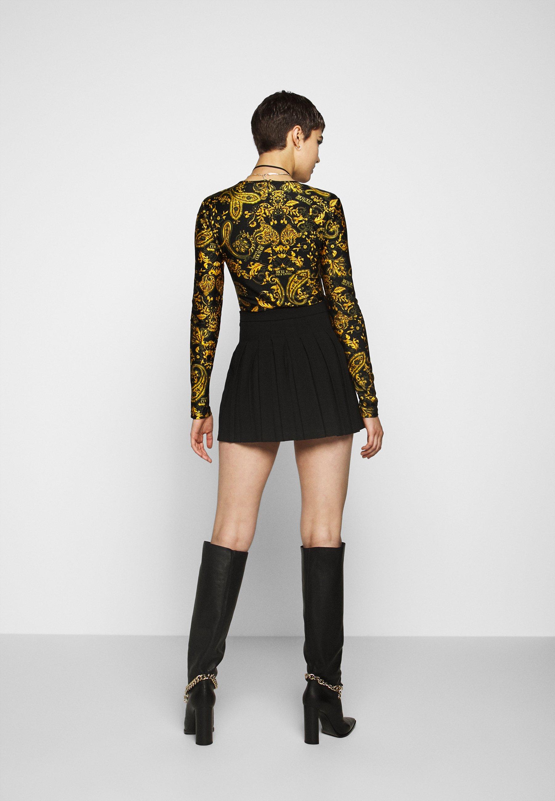 Versace Jeans Couture T-shirt à manches longues - nero - Tops & T-shirts Femme JsKfE