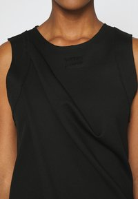 Diesel - PLEADY DRESS - Vestido informal - black - 5