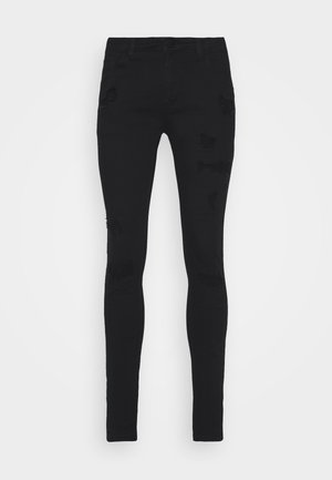 ZIP DESTROY  - Jeans Skinny Fit - blak denim