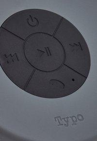 TYPO - SHOWER SPEAKER - Muut asusteet - grey - 6