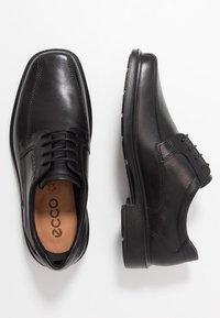ECCO - Elegantní šněrovací boty - black - 1