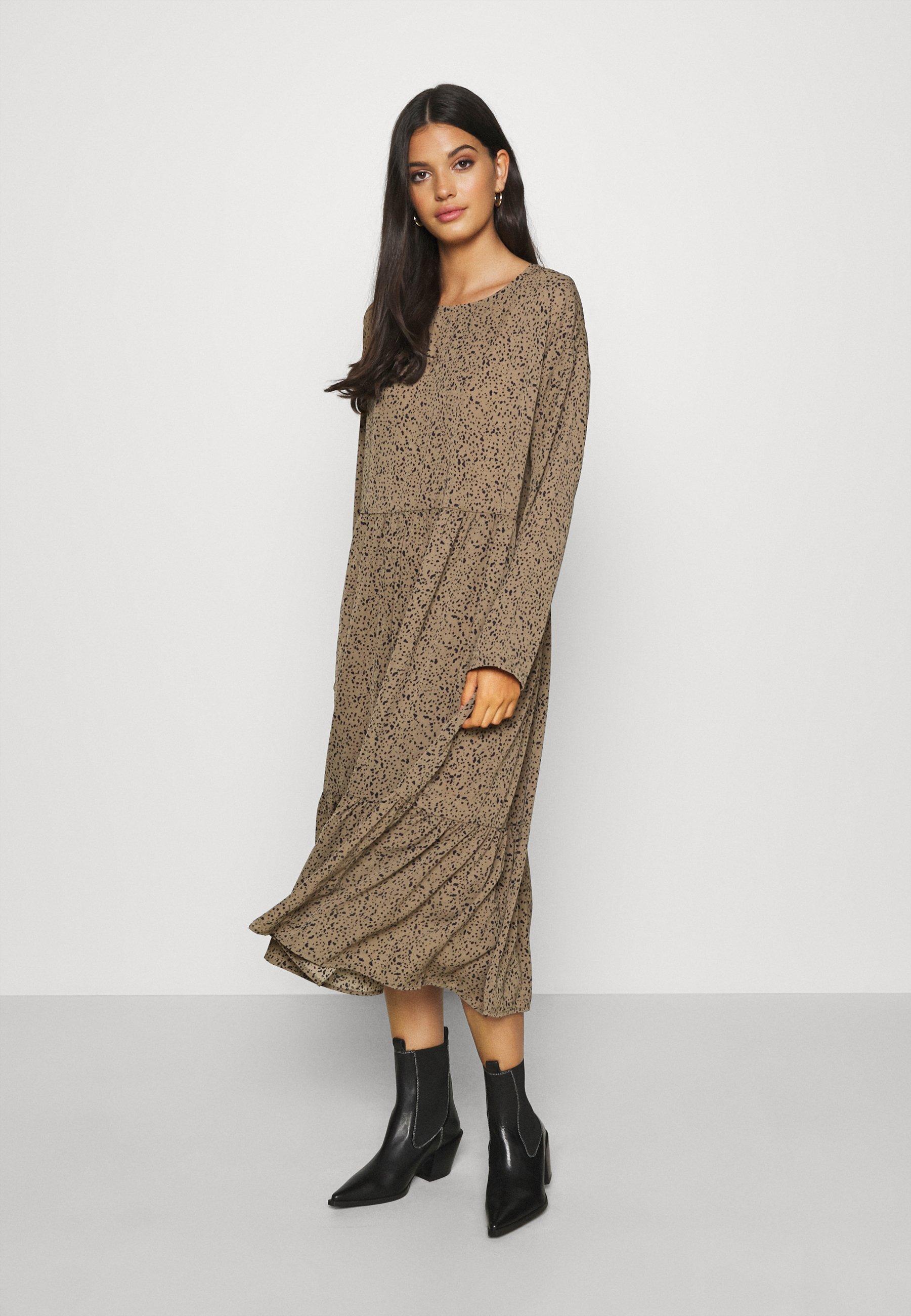 Noisy May NMKATJA LOOSE DRESS Kjole kalamatanavy