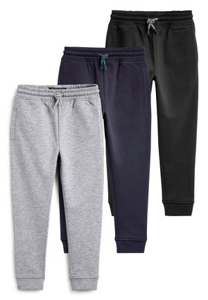 MULTI BLACK SKINNY FIT 3 PACK JOGGERS (3-16YRS) - Spodnie treningowe - blue