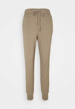 ONLPOPTRASH PANT - Tracksuit bottoms - walnut