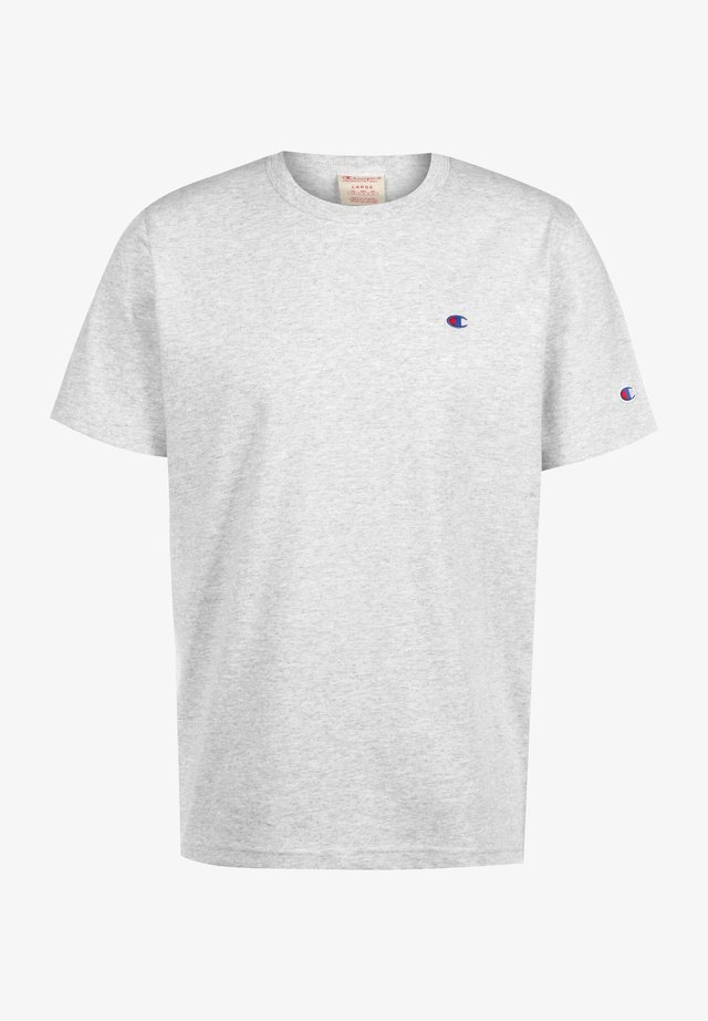CREWNECK - T-shirt basic - mottled grey