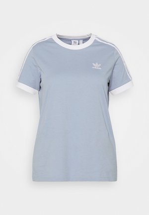 3 STRIPES TEE - Print T-shirt - ambient sky