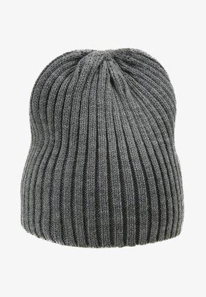 JACBART BEANIE - Lue - grey melange